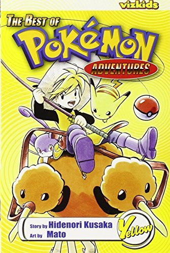 The Best of Pokemon Adventures: Yellow by Hidenori Kusaka (2006-12-19)