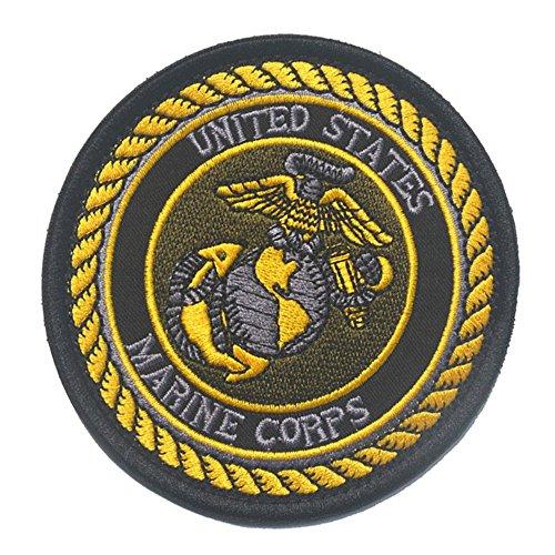 KingNew US-Marines USMC Custom Name Tapes Name Marke Military Stickerei (Patch 1)
