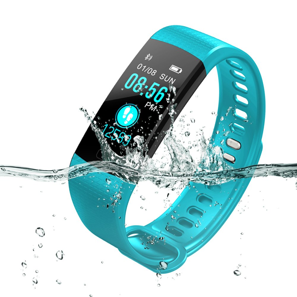 YILON Pulsera Actividad Fitness Tracker Pulsera Inteligente Reloj Fitness Podómetro Monitor de Ritmo cardíaco IP67… 1