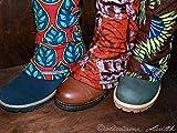Gamaschen im Afrostil für den Winter
