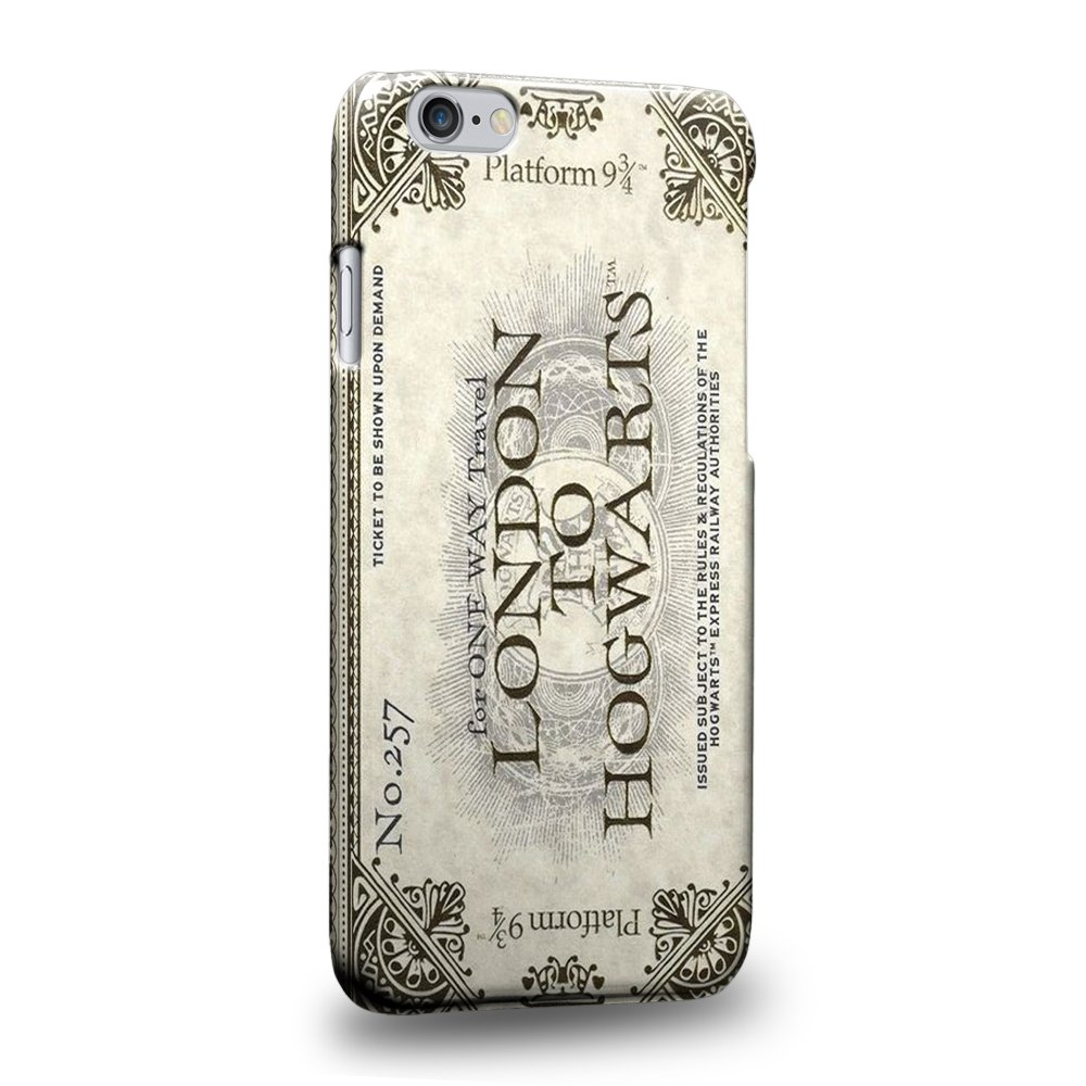 Case88 Premium Designs Harry Potter London To Hogwarts Ticket Platform 9 & 3/4 0917 Custodia/Cover