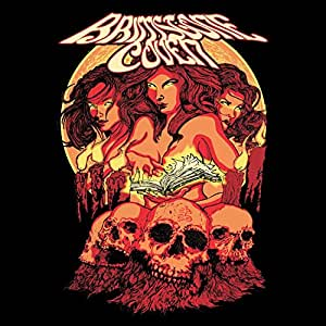 Brimstone Coven [Colour-Vinyl orange-oxblood-red splatter] [Vinyl LP]
