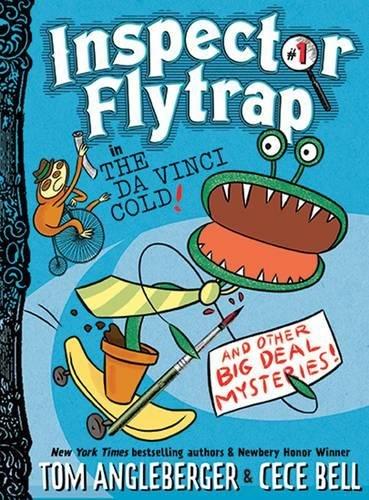 Inspector Flytrap in The Da Vinci Cold por Tom Angleberger