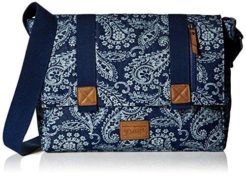 Tom Tailor Denim MADISON 200028 Herren Umhängetaschen 41x26x11 cm (B x H x T) Blau (blau 50)