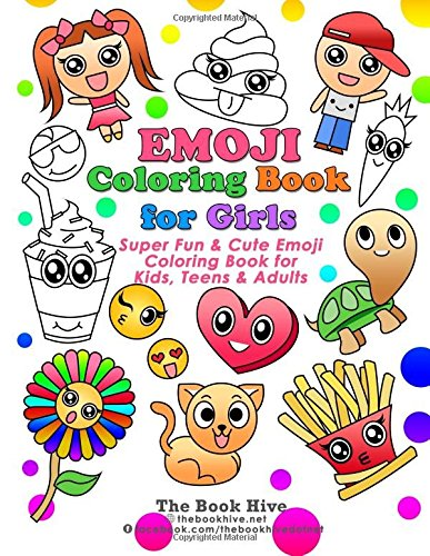 Emoji Coloring Books for Girls: Paint Books for Kids Boys Girls Toddlers Teens & Adults: Volume 1 (Relaxing Colouring Book) por Melissa Smith