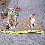Everpert Double Side Corrugated Pet Scratching Bed Cat Scratch Board Kitten Play Mat 9