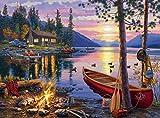 Buffalo Games Darrell Bush: Canoe Lake J...