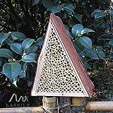Gardigo Bienenhotel, Bienen-Insektenhotel, Bienenhaus zum Nisten und Überwintern - 4