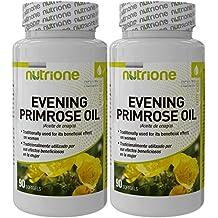 Aceite de onagra 500 mg 90 perlas - NOONA90. (Pack 2u.)