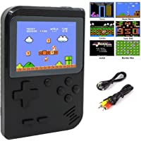 Handheld Retro Games Console with 400 Classic 8 Bit NES Games, Mini Portable Pocket Gameboy with Rechargeable Battery, Christmas Birthday Gift/Present for Men Women Kid Boy Girl