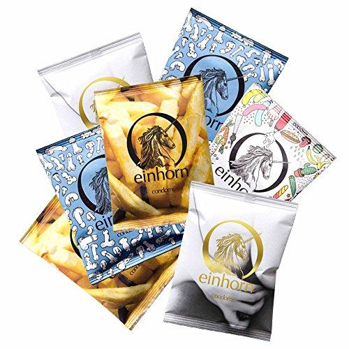 Einhorn Kondome - Jahresset - 49 Stück