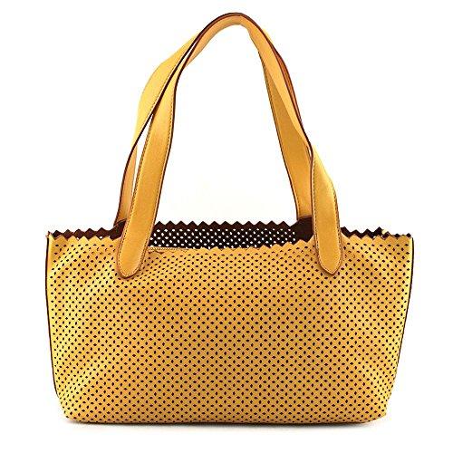 buco-small-diamond-tote-damen-gelb-shopper-umwelttaschen