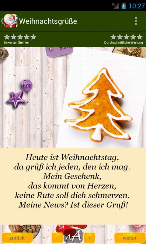 App Weihnachtsgrüße.Weihnachtsgrüße Grüße Zitate Für Weihnachten Amazon De Apps