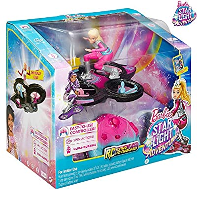 Barbie. Playset Flying Toy Drone Hovercraft Star Light Adventure Sets for Girl Toys for Girls