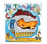 #9: ToyMart Train Set Of Tom & Jerry ( Cat & Mouse ) ( multicolor ) For Kids