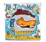 #7: ToyMart Train Set Of Tom & Jerry ( Cat & Mouse ) ( multicolor ) For Kids