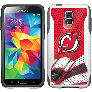 Coveroo Commuter Series Case for Samsung Galaxy S6 - Retail Packaging - New Jersey Devils Home Jersey