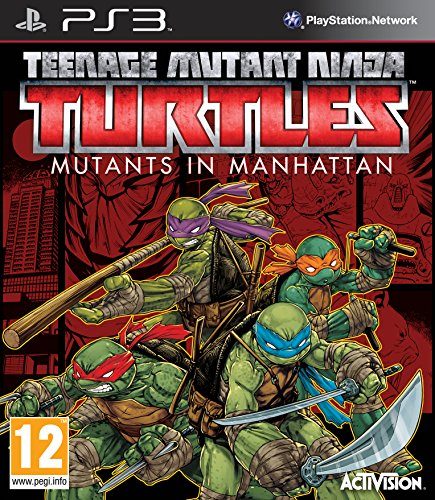 Teenage Mutant Ninja Turtles: Mutants in Manhattan (Sony PS3)