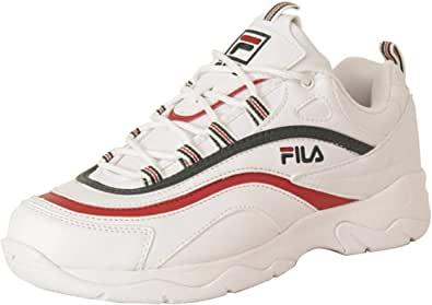 Fila Mens Ray Low Top Lace Up Fashion Sneakers