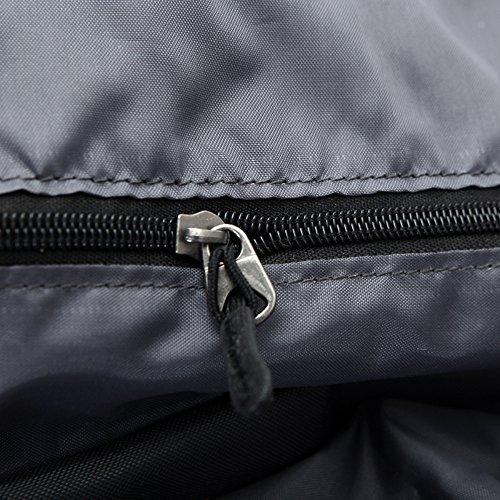 Free Knight escursionismo Bag morbido esterno in nylon impermeabile borsa unisex 65L + 5L ultra-large, Blue, Taglia unica Green
