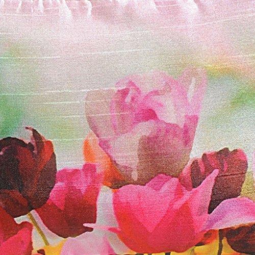 Yuga Printed Münze Beutel-Verfassungs-Waschraum Organizer-Geldbeutel-Frauen-Mappen 1 Pc 6 x 10 Zoll Mehrfarben-2