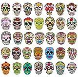 Pack d'Autocollants Crâne de Sucre [50pcs],Sanmatic Autocollant Graffiti pour...