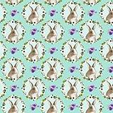 Blanko Textiles Osterstoff - Hoppy Ostern - 0,5 Meter -