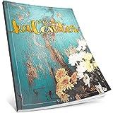 Dékokind® Tagebuch-Kalender: One Line A Day • Ca. A4-Format, Notizseiten & Zitate für jeden Monat • Buchkalender, Aufgabenplaner, Terminplaner • ArtNr. 49 Vintage Flowers • Vintage Softcover