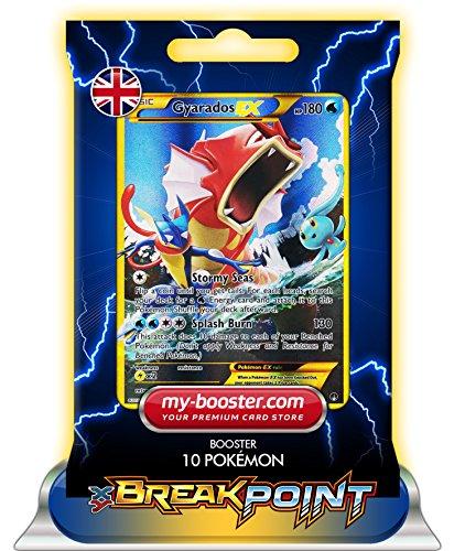 ) ALF ART SHINY 123/122 180HP XY09 BREAK POINT (Turbofieber) - Booster mit 10 Englisch Karten Pokemon my-booster ()