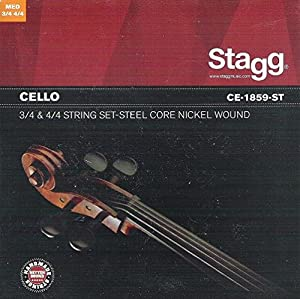 Stagg CE-1859-ST 4/4-3/4 Cello String Set
