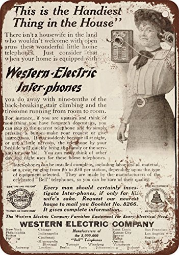 1910-western-electric-inter-phone-telefoni-vintage-look-reproduction-metal-tin-sign-203-x-305-cm