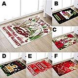 xue-binghualoll-WeihnachtenWeihnachtsproduktFrohe-WeihnachtenWeihnachtsteppich-Kchentr-Bad-Boden-Teppich-Bodenmatte-Druck-50x80cm