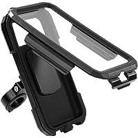 Custodia impermeabile per bicicletta e moto, per navigatore, impermeabile, supporto per cellulare per touchscreen…