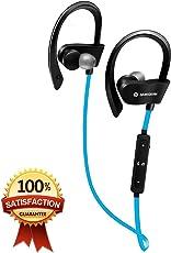 Cuffie Bluetooth, perfetta qualità senza fili Bluetooth tappi per le orecchie, 4.1, stereo, sudore impermeabile, riduzione del rumore sportivo, con microfono, musica 6 ore, 24 ore di chiamata
