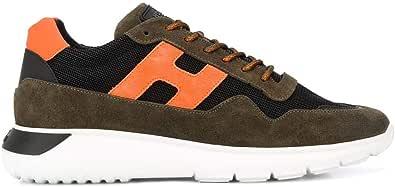 Hogan Luxury Fashion Uomo HXM3710AJ18N7R810X Marrone Camoscio Sneakers   Primavera-Estate 20