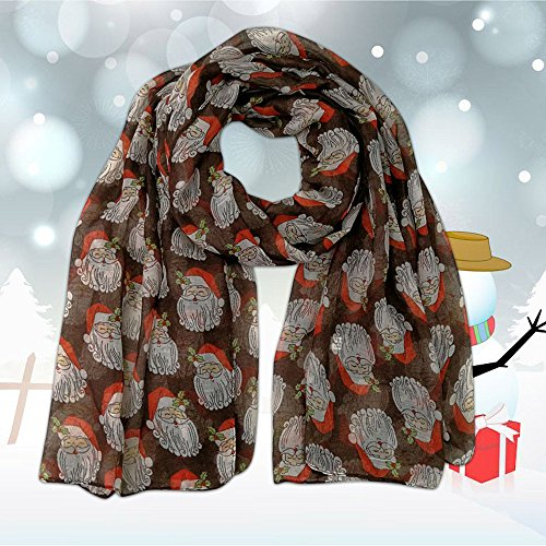 Xuthuly Frauen Mode Frohe Weihnachten gedruckt Schal Schal