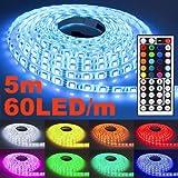 5m LED Streifen, ANNT Licht Strip RGB Band 5050...