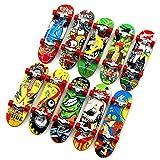 Topways® Finger Mini Skateboard 6 Pezzi, Skate per Dita Giocattolo da Deck Truck Finger Board Skate Park Boy Bambini Regalo per Bambini,Bomboniere Giocattoli Festa