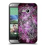 Head Case Designs Nebelfleck Mandala Doodle Ruckseite Hülle für HTC One Mini 2