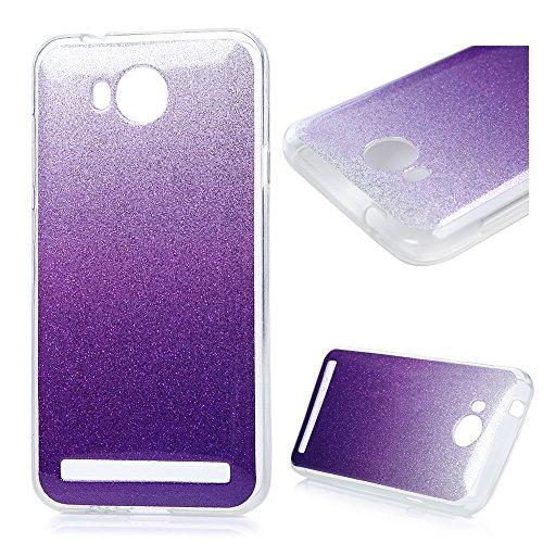 Huawei Y3 2 Case Silicone TPU Morbida Stile Bling Brillante