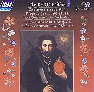 Byrd:Cantiones sacrae 1589; Propers for Lady Mass from Christmas to the Purification