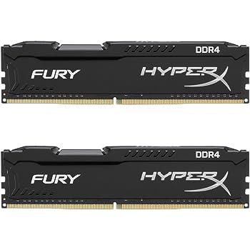 HyperX Fury HX424C15FB2K2/16 Kit di Memoria RAM DDR4 da 16 GB (2x8 GB), 2400 MHz, CL15 DIMM