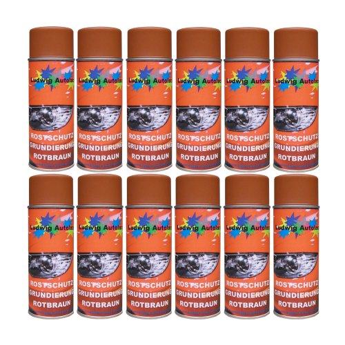 Preisvergleich Produktbild 12 Spray Rostschutz rotbraun 400 ml je Spraydose