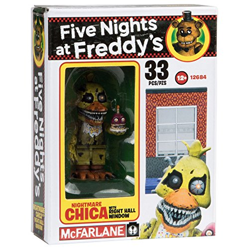 Image of McFarlane Toys Five Nights At Freddy's Right Hall Window Construction Building Kit