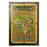 Irland-Spielkarten mit keltischem Pfau und buntem Muster mit Triqueta-Knoten