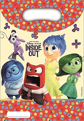 Disney 23cm Inside Out Assiettes de fête