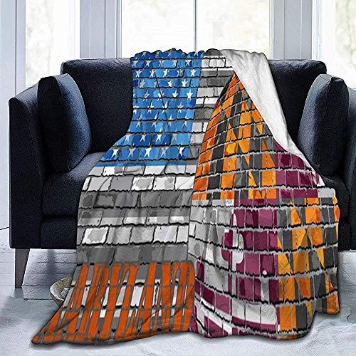 Ace Mate Decke Maryland Flag USA Flag Decke Ultra Soft Velvet Blanket Bettdecke Sofa Blanket Carpet -