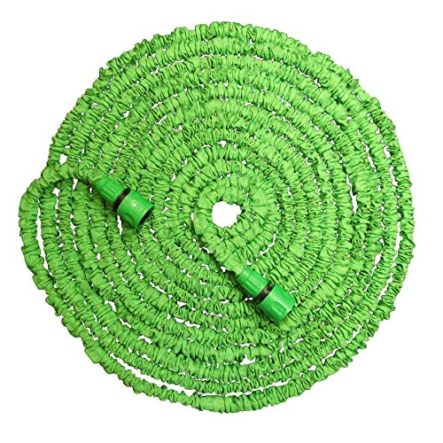 Flexibler Gartenschlauch Magic Hose Wasserschlauch 7,5 Meter lang grün