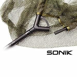 Sonik SKS 106,7cm Épuisette Carpe carbone composite Poignée Solide et durable