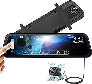 Ydi Spiegel Dashcam Auto Kamera 10 Zoll Touchscreen 2k Elektronik